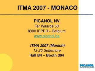 ITMA 2007 - MONACO