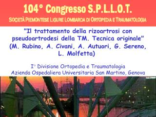 """""""Il trattamento della rizoartrosi con pseudoartrodesi della TM. Tecnica originale"""""""