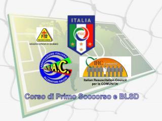 Italian Resuscitation Council per la COMUNITA'