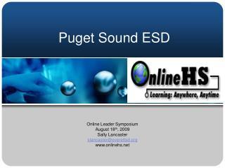 Puget Sound ESD