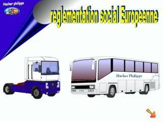 reglementation social Europeenne