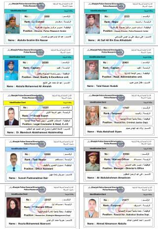 الاســــم : عبد الله إبــــراهيم بن نصــــار Name :  Abdulla Ibrahim Bin Nassar