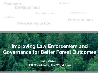 Improving Law Enforcement and Governance for Better Forest Outcomes