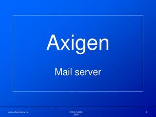 Axigen Mail server