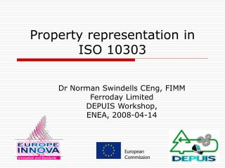Property representation in ISO 10303