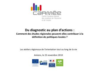 Du diagnostic au plan d'actions :