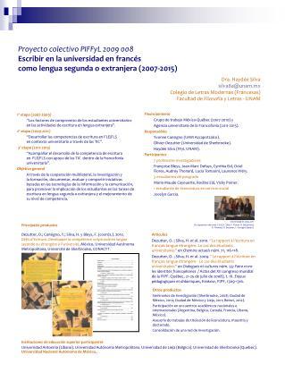 Principales productos Instituciones de educación superior  participantes