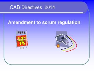 CAB  Directives  2014