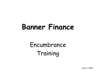 Banner Finance