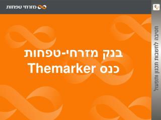 בנק מזרחי-טפחות כנס  Themarker