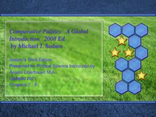 Comparative Politics:  A Global Introduction.  2008 Ed.  by Michael J. Sodaro