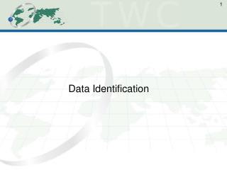 Data Identification
