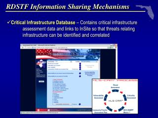 RDSTF Information Sharing Mechanisms