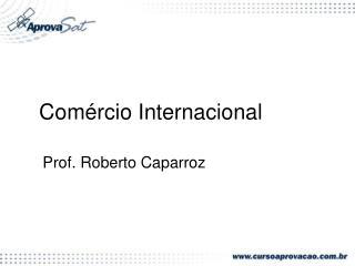Com�rcio Internacional