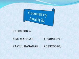 Geometry  Analitik