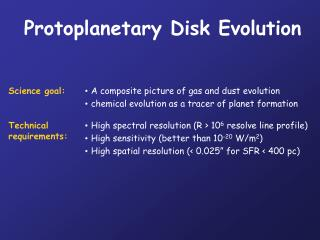 Protoplanetary Disk Evolution