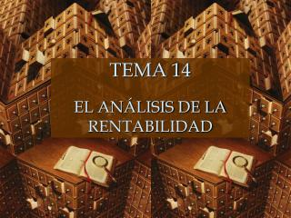 TEMA 14 EL ANÁLISIS DE LA RENTABILIDAD
