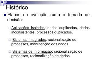 Hist�rico