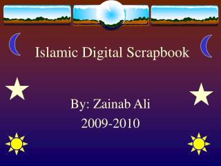 Islamic Digital Scrapbook
