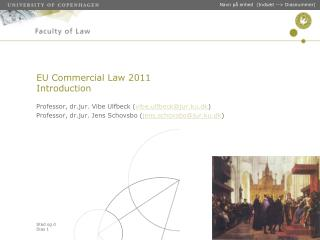 EU Commercial Law 2011 Introduction