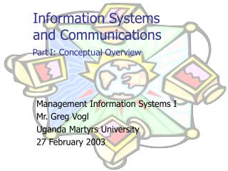 Information Systems  and  Communications