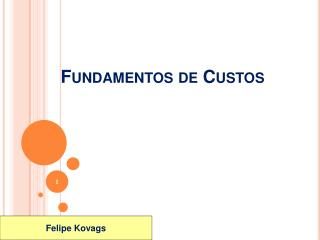 Fundamentos de Custos