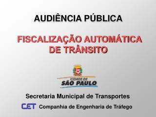 Secretaria Municipal de Transportes