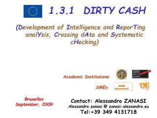 1.3.1  DIRTY CASH