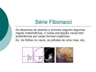 Série Fibonacci