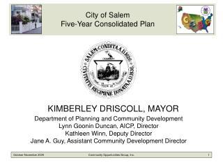 KIMBERLEY DRISCOLL, MAYOR