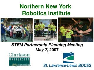 STEM Partnership Planning Meeting May 7 , 2007