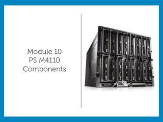 Module 10 PS M4110 Components