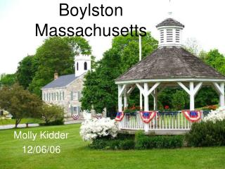 Boylston Massachusetts