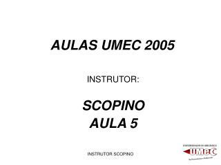 AULAS UMEC 2005