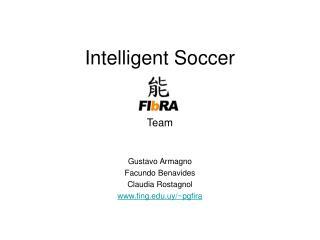 Intelligent Soccer Team