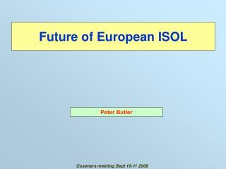 Future of European ISOL