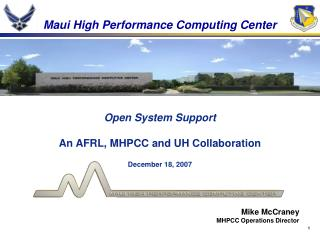 Maui High Performance Computing Center