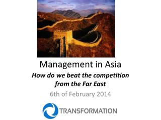 Management in Asia