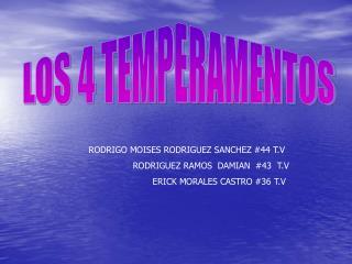 RODRIGO MOISES RODRIGUEZ SANCHEZ #44 T.V