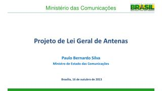 Projeto de Lei Geral de Antenas