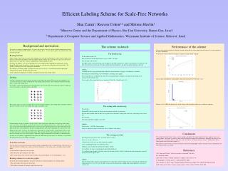 Efficient Labeling Scheme for Scale-Free Networks