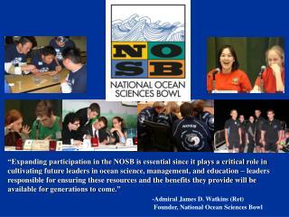 Volunteer Orientation NOSB Program Overview