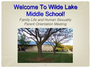 Welcome To Wilde Lake Middle School!