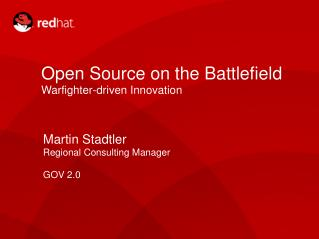 Open Source on the Battlefield Warfighter-driven Innovation