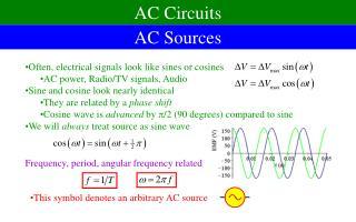 AC Sources