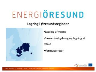 Lagring i Øresundsregionen