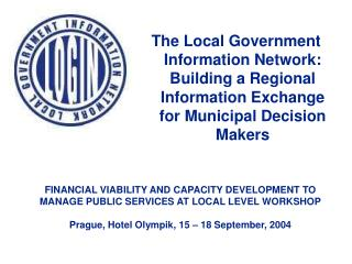 FINANCIAL VIABILITY AND CAPACITY DEVELOPMENT TO MANAGE PUBLIC SERVICES AT LOCAL LEVEL WORKSHOP