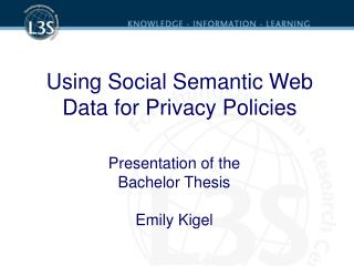 Using Social Semantic Web Data for Privacy Policies