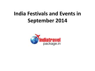 India Festivals and Events in 2014