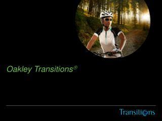 Oakley Transitions 